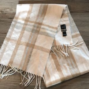 New cashmere scarf